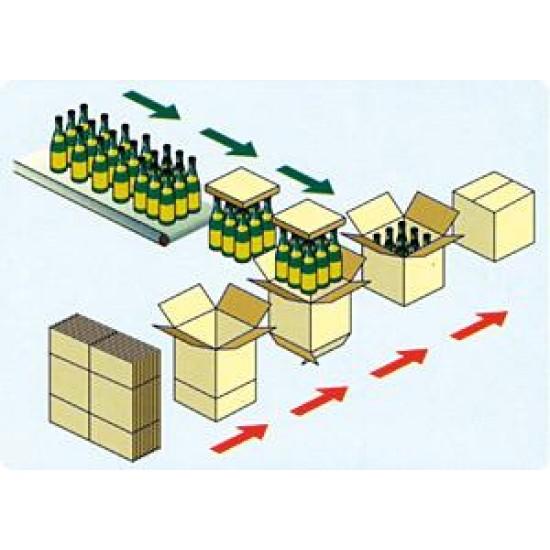 MINI COMBI 500N Monoblok Rozkładarka kartonów, kartoniarka, zaklejarka kartonów